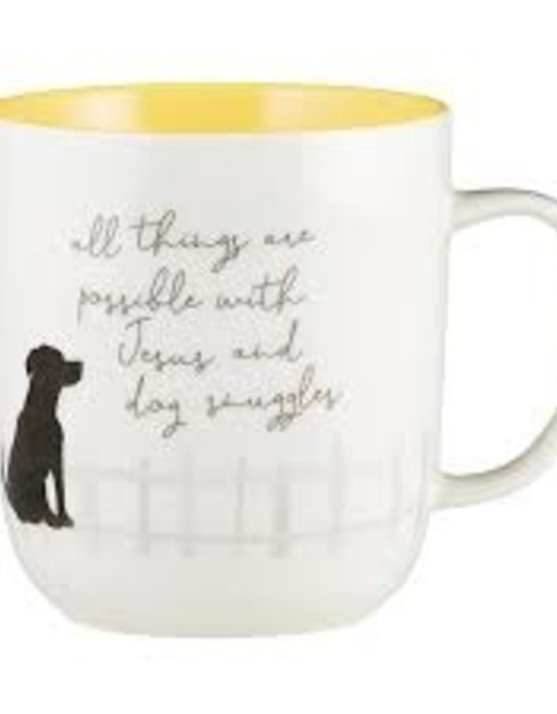 Dog Snuggles Mug