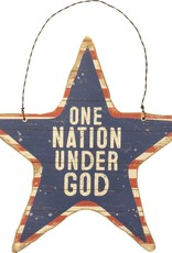 Hanging Decor - One Nation Under God