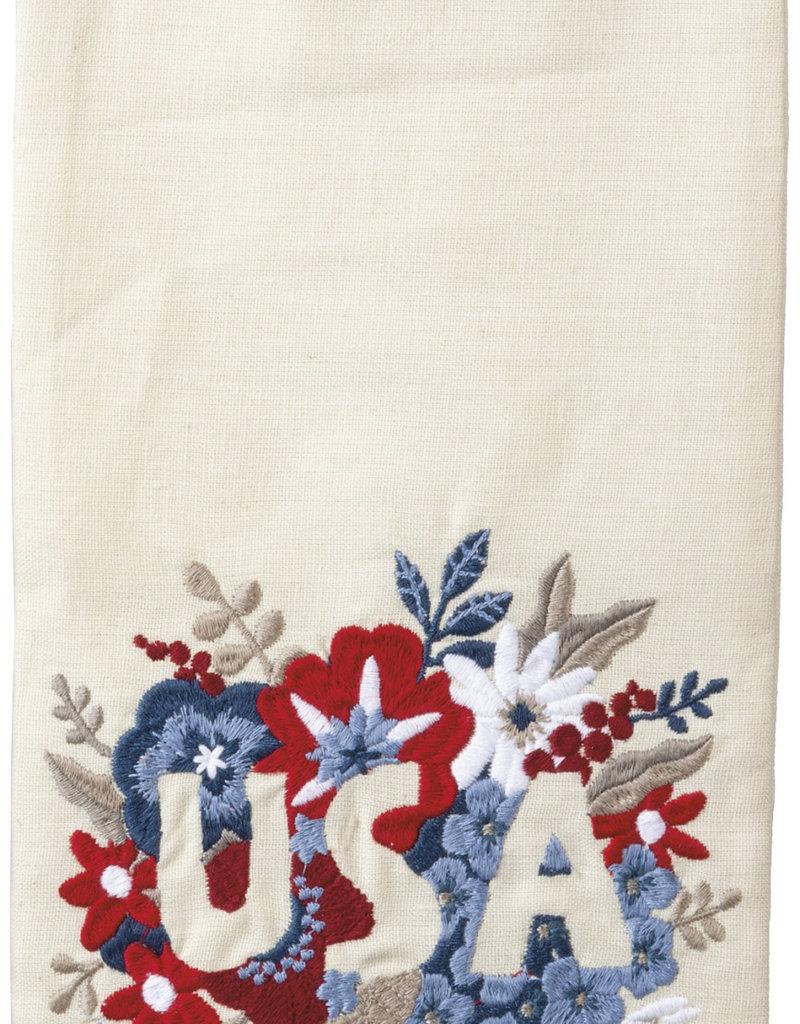 Dish Towel - Floral USA