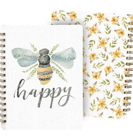 Spiral Notebook - Be Happy