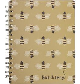 Spiral Notebook - Bee Happy