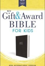 NIV Gift and Award Bible for Kids, Flexcover Black, Comfort Print
