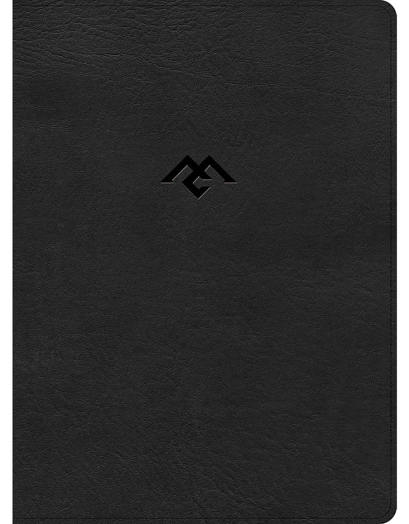 CSB Men of Character Bible, Black LeatherTouch, Indexed