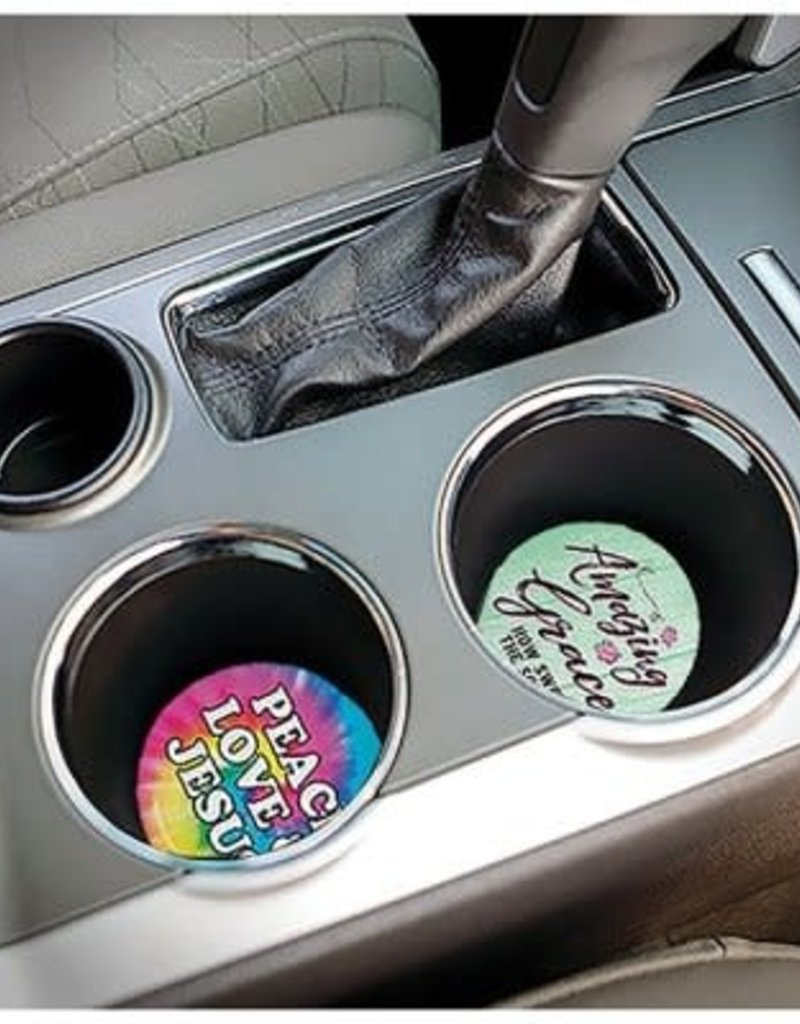 Be Strong Cup Holder Coasters
