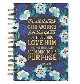 In All Things God Works For Good Journal