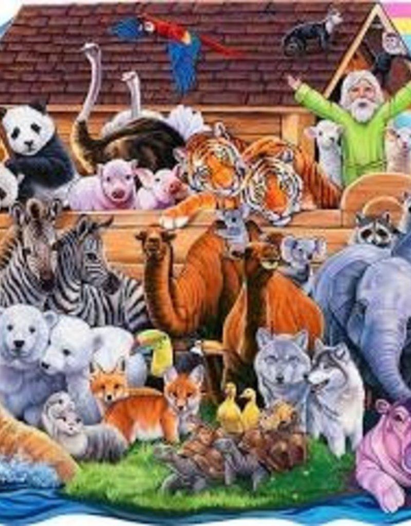 Noah's Ark Shaped Puzzle (100 pieces)