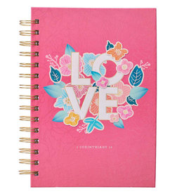 Love Large Wirebound Journal
