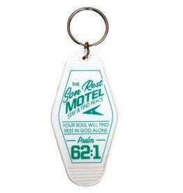 Son Rest Motel, Retro Motel Keychain