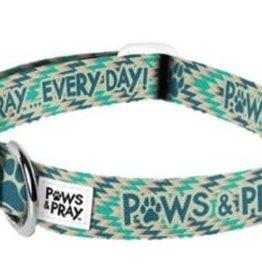 Paws Pet Collar, Small/Medium