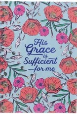 His Grace Is Sufficient Wire Journal, Large