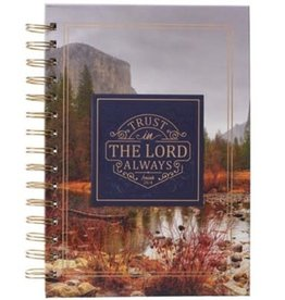 Trust In The Lord Wire Journal, Large