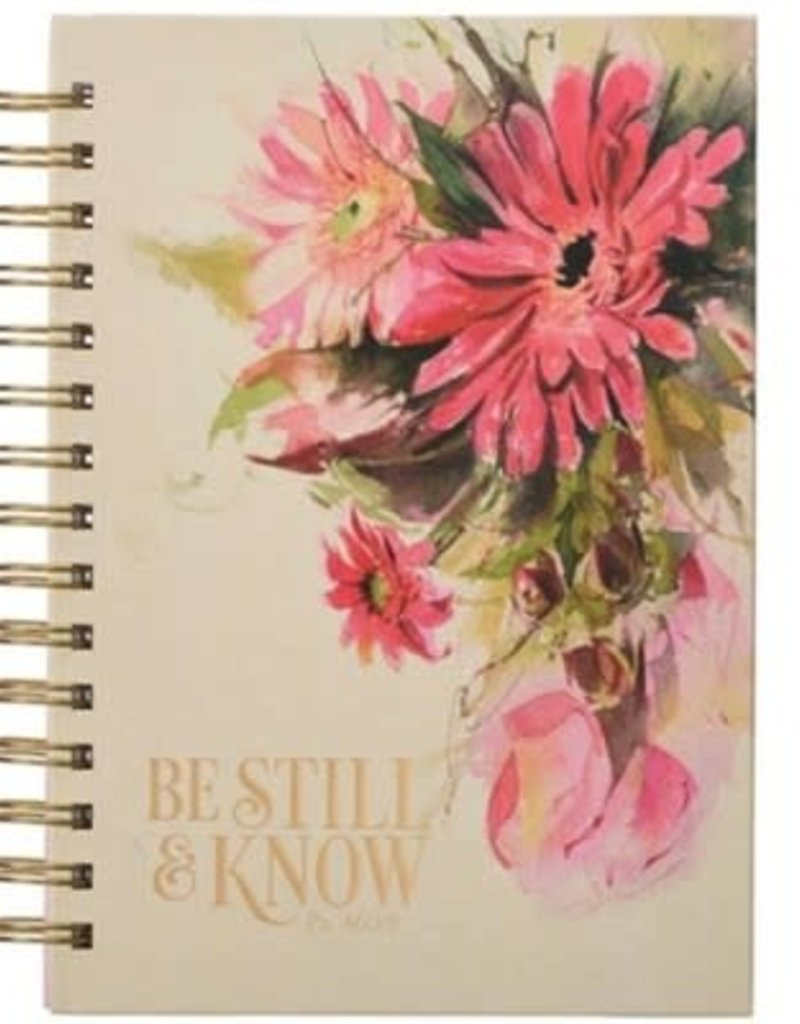 Be Still And Know Wire Journal, Large