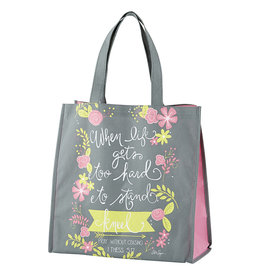 When Life Gets Too Hard to Stand Kneel Tote Bag