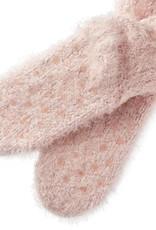 Dusty Pink Giving Socks