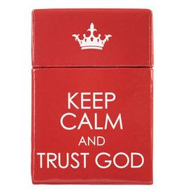 Box of Blessings 101 KEEP CALM & TRUST GOD
