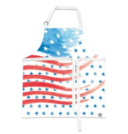 Red, White & Blue Apron
