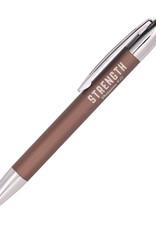 Pen-Classic-Brown/Strength w/Gift Box