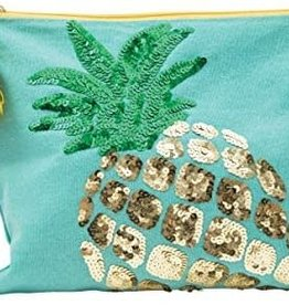 C&F Home Pineapple Pouch Blue