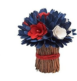 Americana Floral Bundle Patriotic Centerpiece