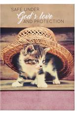 Notepad Pet Safe Under God's Love