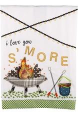 I Love You S'more Tea Towel