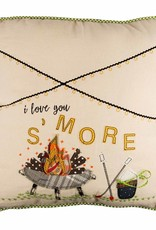 I Love You S'More Pillow 18X18