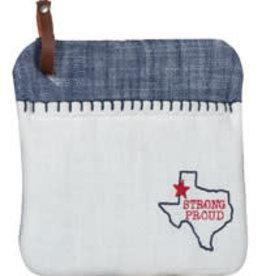 Texas Pride Embroidered Pocket Mitt