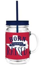 20oz Mason-Texas Born