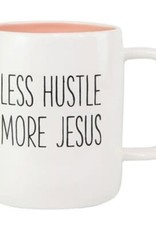Less Hustle More Jesus Ceramic Mug