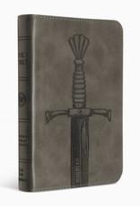 COMPACT BIBLE -TruTone Silver Sword