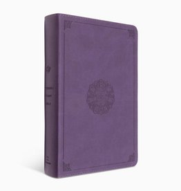 STUDY BIBLE, STUDENT,  TruTone-Lavender Emblem Design