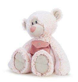 "PINK POCKET PRAYER BEAR 16"""
