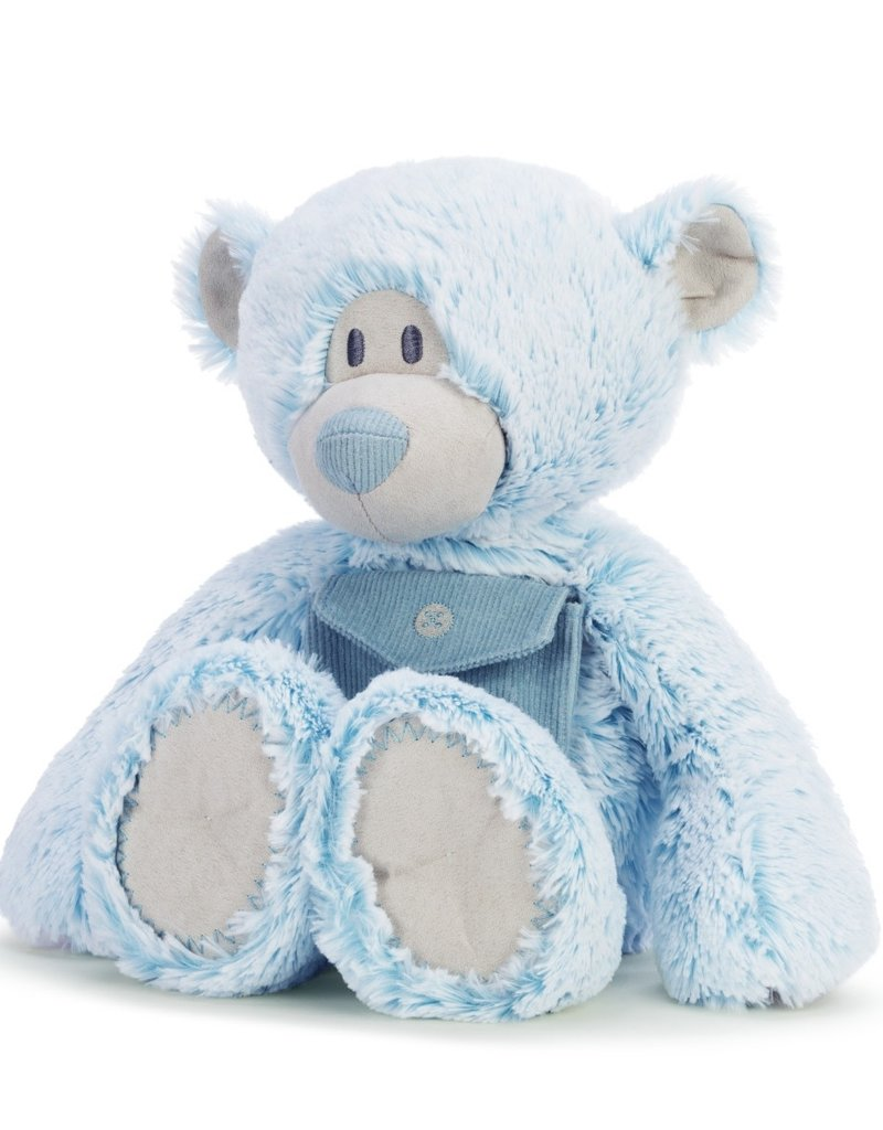 "BLUE POCKET PRAYER BEAR 16"""