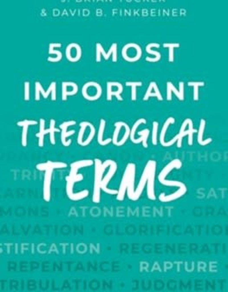 50 Most Important Theological Terms