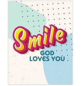 Smile God Loves You Magnet