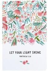 Let Your Light Shine Notepad Set