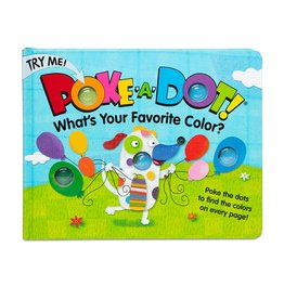 Melissa & Doug Children's Book - Poke-a-Dot: What's Your Favorite Color