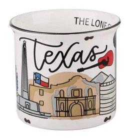 State of Texas Campfire Mug