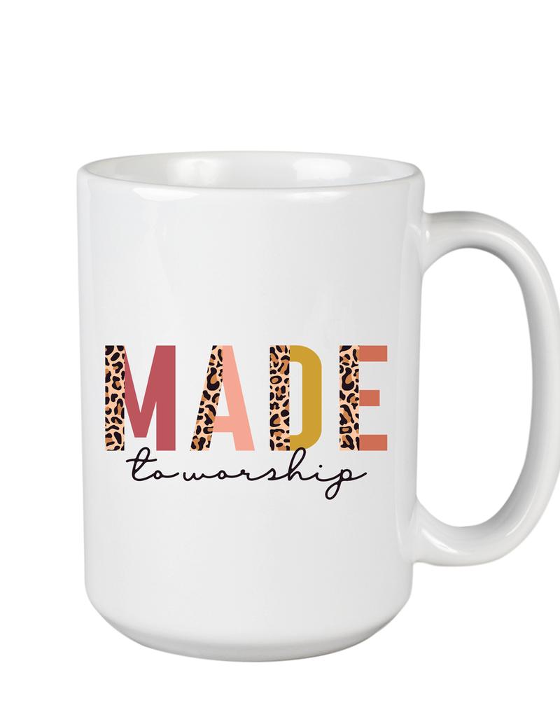Made To Worship Leopard Mug