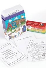 Coloring Cards ABC Bible Fun (Box of 52)