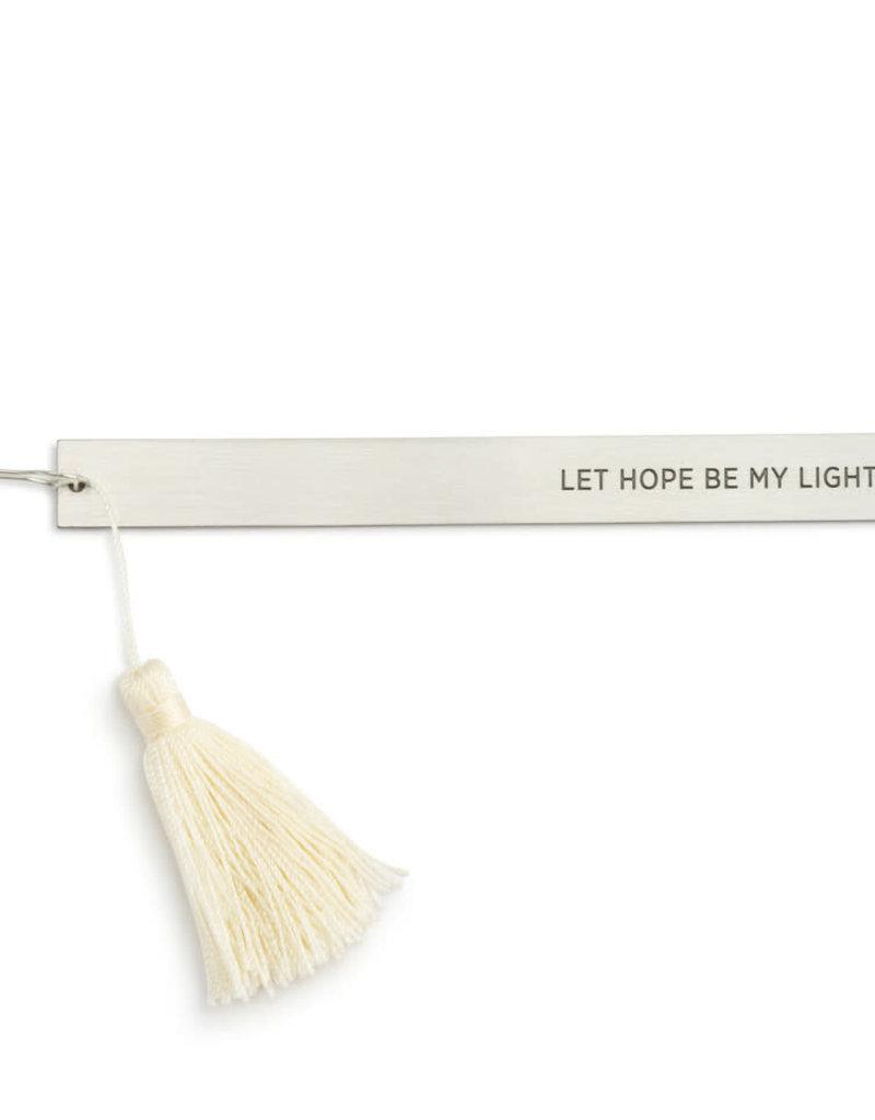 Light Gray Prayer Pillow - Hope and Healing