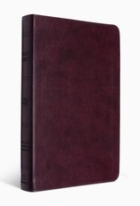 ESV Large Print Thinline Bible  TruTone®, Mahogany