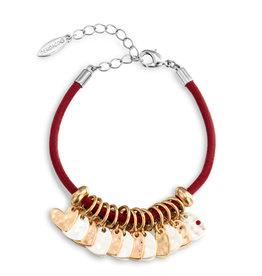 Charm Bracelet Red Heart