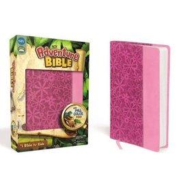 NIV Adventure Bible, Italian Duo-Tone, Raspberry/Pink