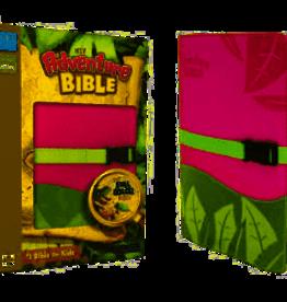 NIV Adventure Bible, Italian Duo-Tone, Clip Closure, Pink/Green