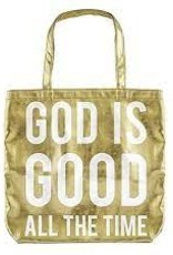 God is Good Gold Tote