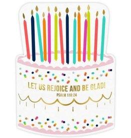 Birthday Cake Napkin 20PK (cut out)