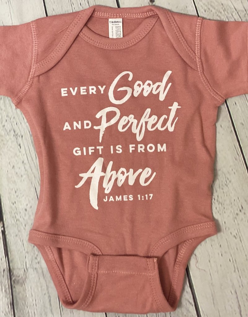 Every Good and Perfect Gift Onesie