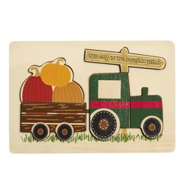 Truck Pumpkin Puzzle
