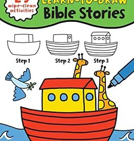 My First to Learn-to-draw Bible Stories